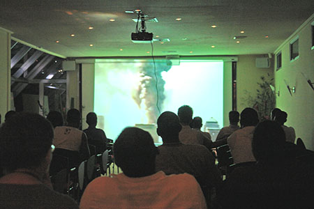 "9/11 Event in Suriname — Watching ""9/11 Mysteries: Demolitions."""