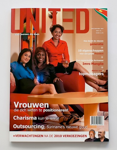 Cover of United Magazine June 2010 Edition