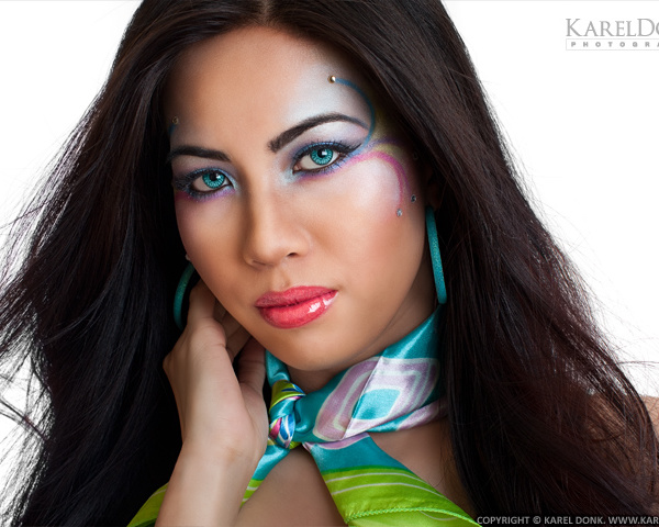 Test photoshoot with Carol Chen Poun Joe — Second session: Fantasy eye make-up