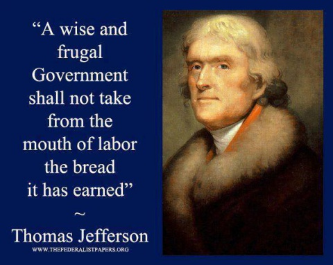 Thomas Jefferson on Taxes