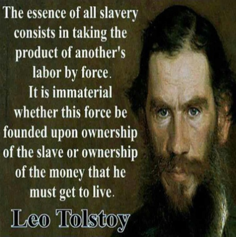 Tolstoy on Taxes