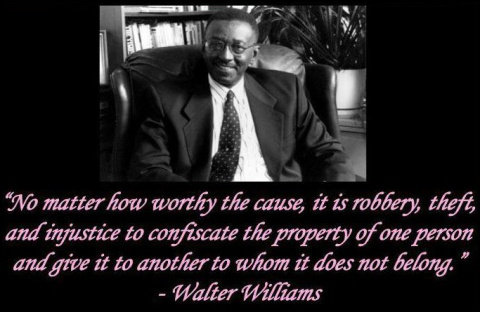 Walter Williams on Taxes