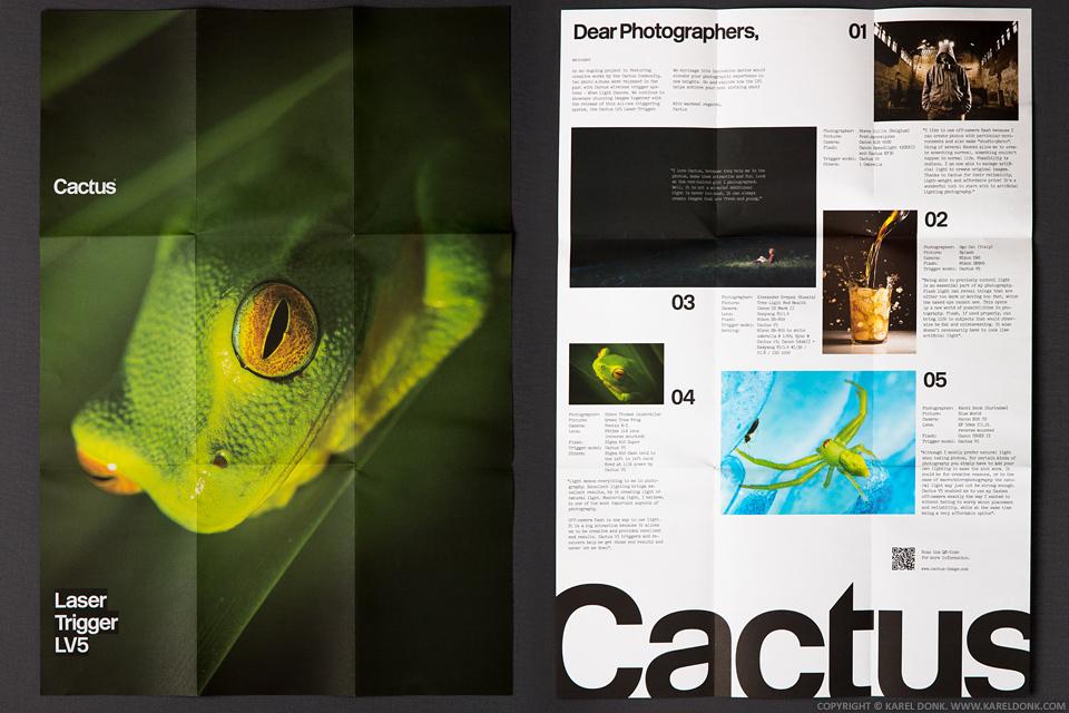 Cactus Laser Trigger LV5 Poster