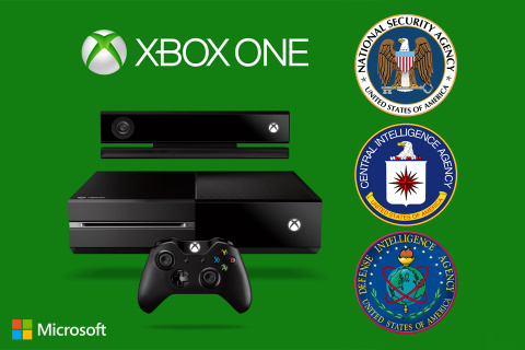 The Xbox One Spy Console brought to you by Microsoft, the NSA, CIA and DIA.