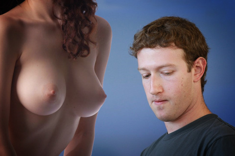 Mark Zuckerberg doesn't like female nipples
