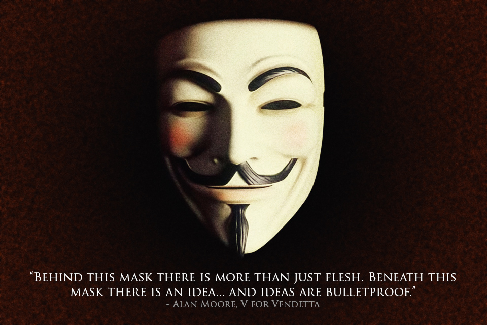 WE ARE ANONYMOUS EXPECT US