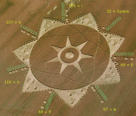 Crop circle in Poirino, Italy, June 20, 2011