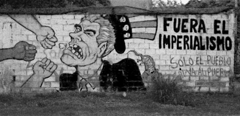 Political Graffiti in Venezuela