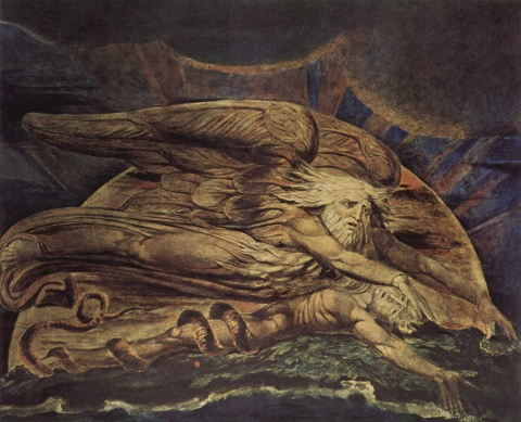 """Elohim Creating Adam"" by William Blake"