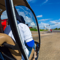 Aerial Photography — Moments before take off at Zorg & Hoop Airport