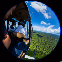 Aerial Photography — Partial selfie with the wind blowing in my face