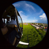 Aerial Photography — Approaching the runway at Zorg & Hoop Airport