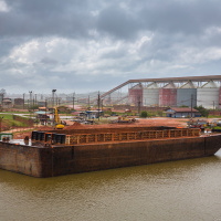 Industrial Photography for JP Knight — One of the empty barges