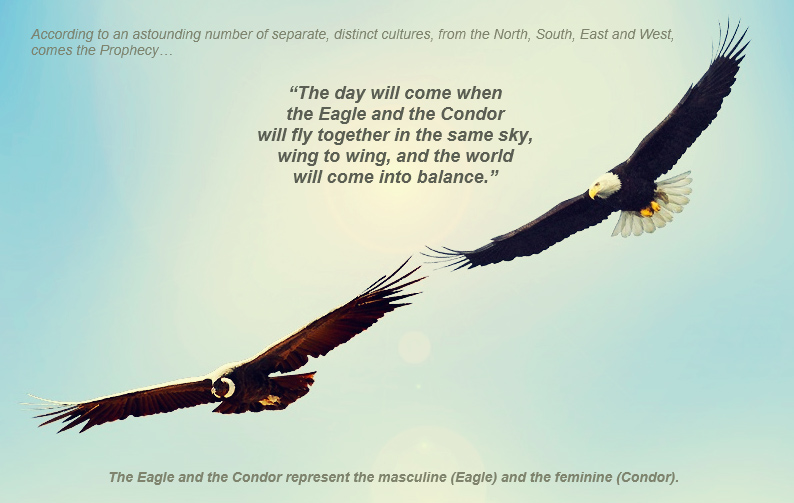 The prophecy of the Eagle and the Condor — Karel Donk