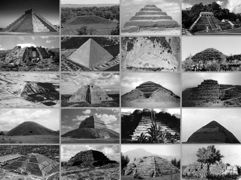 Pyramids can be found all over the world (Mexico, Egypt, China, Bosnia, El Salvador, Guatemala etc.) and are an indication that there was one a global civilization on earth.