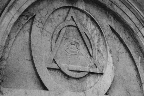 The All Seeing Eye on the Church of St. Magdalene in Venice (Photo by gnuckx)