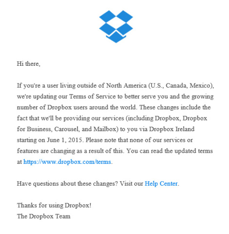 Dropbox Tax Avoidance