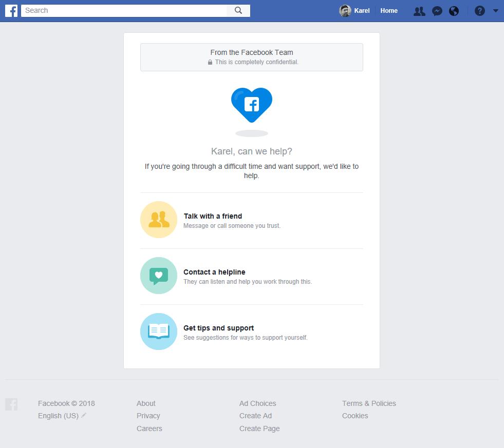 No Mark Zuckerberg I Don T Need Your Help Karel Donk
