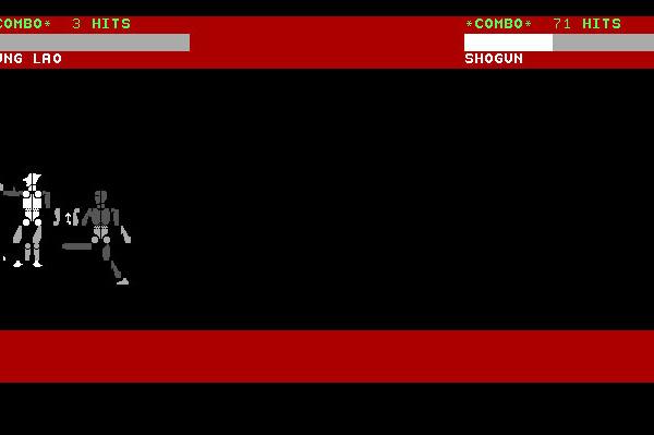ASCII Kombat