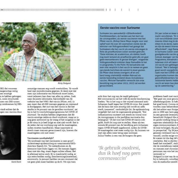 COVID-19-vaccins in Suriname: vacci-naties of vacci-nazi's?